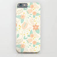 iPhone & iPod Case featuring Vine Dance by Elizabeth Olwen