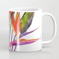 The bird of paradise Mug