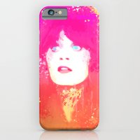 iPhone & iPod Case featuring Zooey Deschanel by Vincent Vernacatola