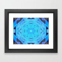 Hydro Nebula Framed Art Print