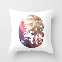 Implore Throw Pillow