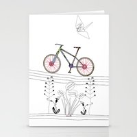 Photo Bicycle Stationery Cards