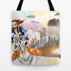 SCAPE AWAY. Tote Bag