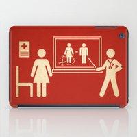 Sex change iPad Case