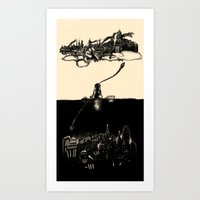 A Tale Of ∞ Cities Art Print
