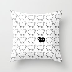 Stand Out From The Crowd Throw Pillow