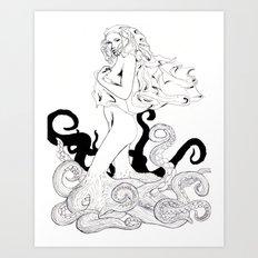 Drudge Art Print