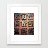 Beauty Queens Framed Art Print