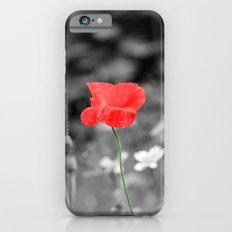 Red Flower Slim Case iPhone 6s