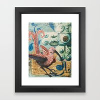 Fantastical Naturalism Framed Art Print