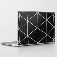 retro Laptop & iPad Skins featuring Geodesic by Terry Fan