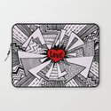Power of Love... Laptop Sleeve