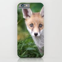 iPhone & iPod Case featuring Fox Cub by Simon's Photography
