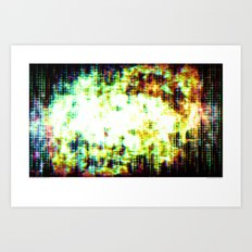 You Are Here, as Are We All Art Print