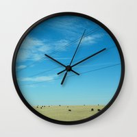 South Dakota Cows Wall Clock