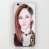 Sandara Park (Dara - 2NE… iPhone & iPod Skin