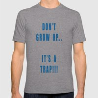 IT'S A TRAP!!! Mens Fitted Tee Athletic Grey SMALL