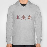 Painted Beetles Hoody