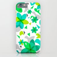 Flower Overlay Pattern iPhone 6 Slim Case