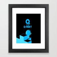Q is for... Framed Art Print