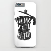 iPhone & iPod Case featuring italians do it better ! by mauro mondin