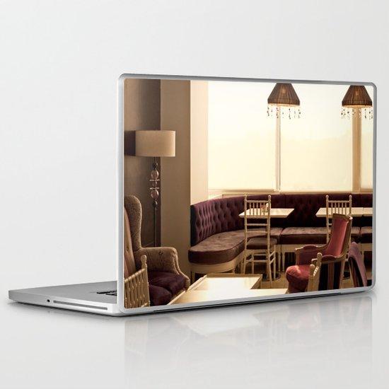 Cafe (French Vintage Cafe - Restaurant) Laptop & iPad Skin