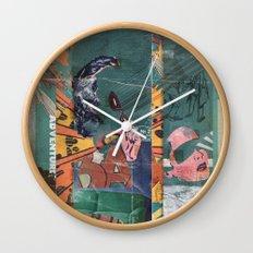 Secret Identity Wall Clock