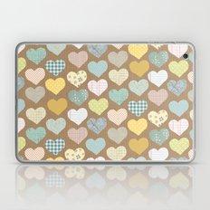 hearts pattern Laptop & iPad Skin