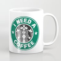 STARBUCKS - I need a coffee! (v2) Mug