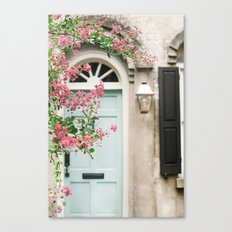Charleston doorway Canvas Print