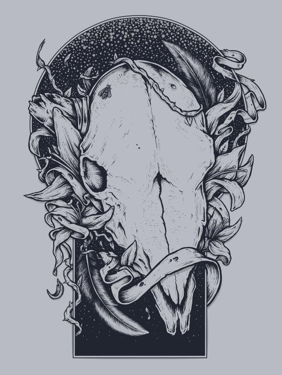 Mind the night Art Print