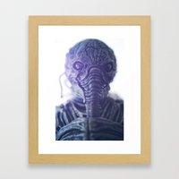 We Mean You No Harm Framed Art Print