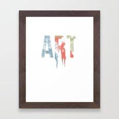 Art & Protest Framed Art Print