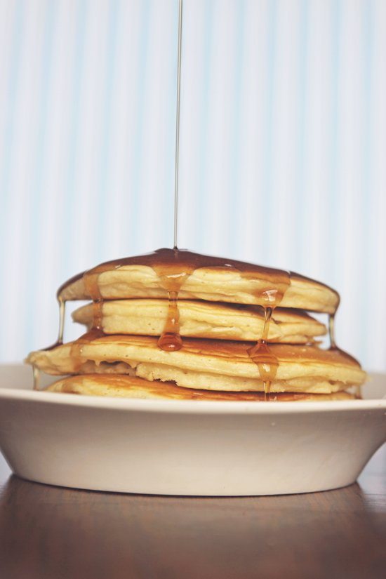 Wake Up and Smell the Pancakes Canvas Print