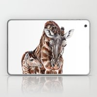 Giraffe With Baby Giraff… Laptop & iPad Skin