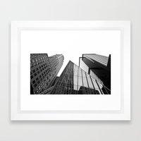 New York Building Framed Art Print