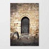 Histoire De Portes Canvas Print
