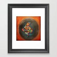 Colombia Tierra Querida Framed Art Print