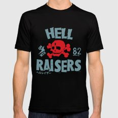 Hell Raisers SMALL Black Mens Fitted Tee