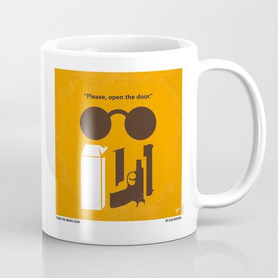 No239 My LEON minimal movie poster Mug