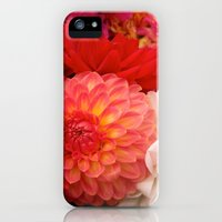 iPhone 5s & iPhone 5 Cases featuring Dahlias by Sofia Fogel