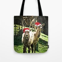 Tis The Season - Reindee… Tote Bag