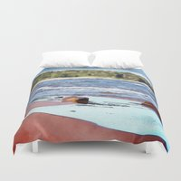 Lake Superior Bay Duvet Cover
