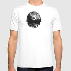 Imperial Gunner Mens Fitted Tee SMALL White