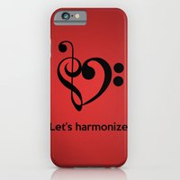 iPhone & iPod Case featuring Let's harmonize by Centribo