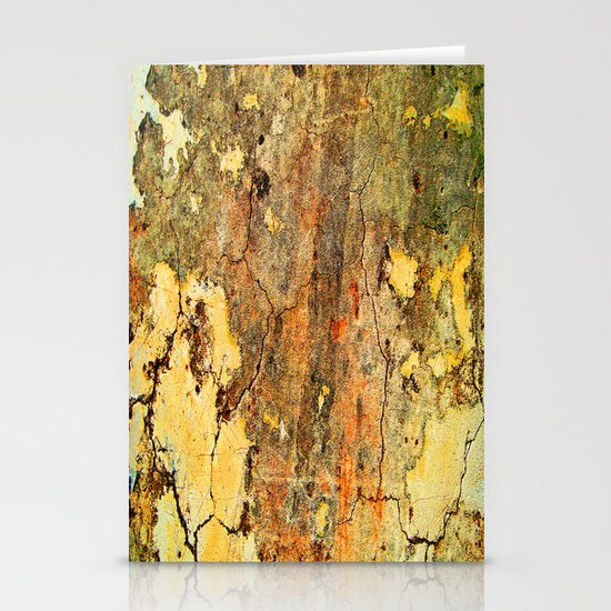 Cracked Wall Stationery Card