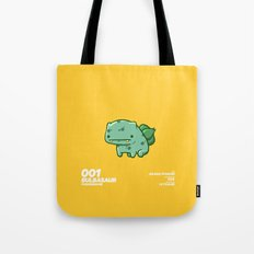 001 Bulbasaur Tote Bag