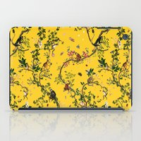 Monkey World Yellow iPad Case
