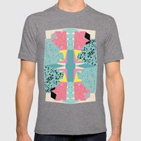 Paper Layer Mens Fitted Tee Tri-Grey SMALL