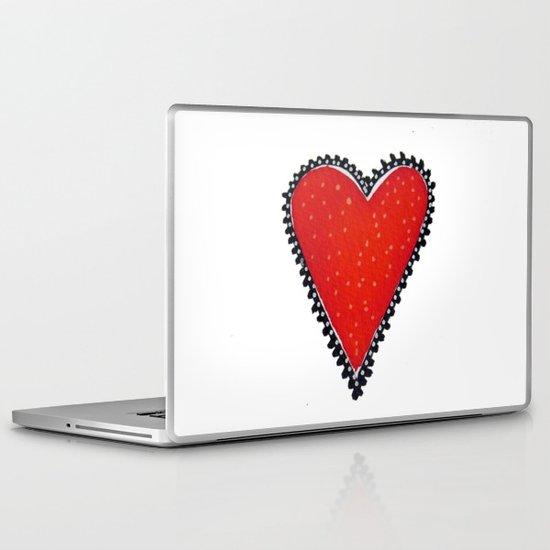 I HEART YOU Laptop & iPad Skin